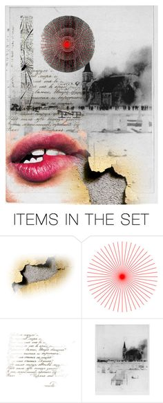 """Electric crayons and my horse in an undertow"" by eclecticartist ❤ liked on Polyvore featuring art"