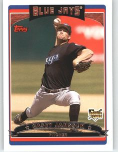 2006 Topps Update 135 Casey Janssen RC - Toronto Blue Jays (RC - Rookie Card) (Baseball Cards) >>> Read more  at the image link.