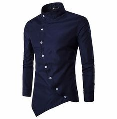 Cheap shirt lamborghini, Buy Quality shirt leather directly from China shirt snaps Suppliers: Men Shirt Long Sleeves 2017 Brand Shirts Men Casual Male Slim Fit Solid color Chemise Mens Camisas Dress Shirts Chemise Homme Cheer Shirts, Zerschnittene Shirts, Cut Up Shirts, Fall Shirts, Casual Shirts, Collar Shirts, Party Shirts, Casual Tops, Casual Pants