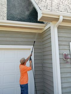Exterior Power Wash -- Having your home's exterior and windows power-washed won't just make your home look sharp, it also will prevent the growth of mold and mildew that feed on grime.