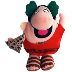 Amazon.com: Little Caeser Pizza Pizza Beany Plush: Toys & Games