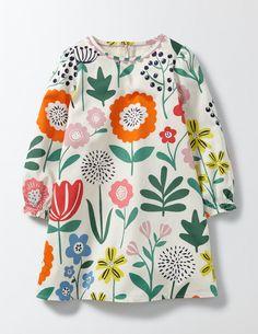 Woven Printed Smock Dress