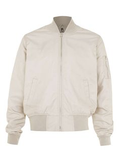 AAA Stone Ruched Bomber Jacket - Topman