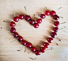 Jar Of Hearts, Rainbow Fruit, I Love Heart, Sweet Cherries, Fruit Art, Heart Art, Be My Valentine, Funny Valentine, Love Is All