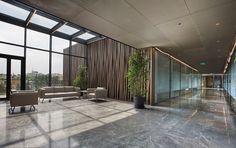 Selçuk Ecza Istanbul Headquarters Lobby Interior Architecture