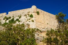 Check out Fortress Fortezza in Rethymno, Crete by windu on Creative Market