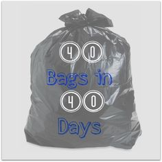 A Decluttering Challenge: 40 Bags in 40 Days via Catholic Mothers Online   What a great idea for Lent!