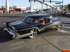 1957 Buick Custom From SEMA 2012. raceline wheels ... 2012 sema show we stuck around to watch the official sema cruise now sniper 5 star