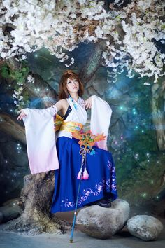 Yuna | Final Fantasy X | Cosplayer: tomiaaa | I don't own the picture.