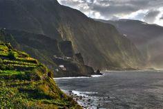 Cliffs Of Madeira 2 by ~CitizenFresh on deviantART
