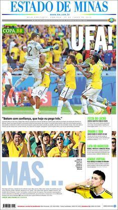 Brasil wins in penalties over Chile jun28/14