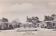 The Derby Motel Arcadia California