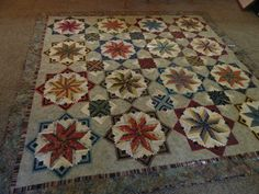 """""""Eldon"""" (pattern by Edyta Sitar)  pieced and quilted by me  October, 2012"""