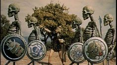Jason and the Argonauts.  I loved these old stop-animation flicks.  That and Cheeze-Wiz made the Saturdays on my childhood perfect.