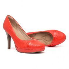 Sapato Meia Pata Salto Alto | Piccadilly