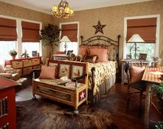 girls rustic western themed bedroom | cowboy theme bedrooms - rustic ...