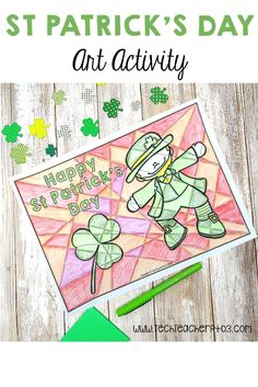 These fantastic black and white templates allow your students to effortlessly create impressive classroom wall displays. In addition, you can incorporate the cultural celebration of St Patrick's Day within your Art lessons by exploring warm and cool colours. Let students experiment with colours or use the directions contained in the pack to structure a lesson around warm and cool colours. #stpatrick #ireland #irish #celebration #art #activity #culture #symbols #coloring Special Education Activities, Art Activities, Teaching Resources, Teaching Ideas, Classroom Wall Displays, Classroom Walls, Primary School Curriculum, Primary Classroom, Saint Patricks Day Art
