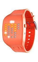 Simple TheOne Ibiza Ride Digital Orange Dial Unisex watch ICMOR Casual watch Digital movement