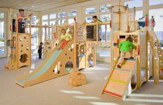 Play Sets Indoor Playset, Indoor Playhouse, Build A Playhouse, Playhouse Furniture, Bedroom Furniture, Furniture Design, Indoor Playroom, Playroom Ideas, Playroom Slide