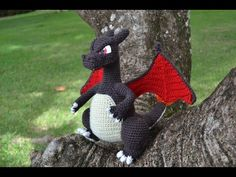 Charizard's snout - Amigurumi Pattern by Miahandcrafter - YouTube