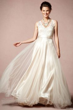 BHLDN Wedding Dresses Spring 2013 Collection
