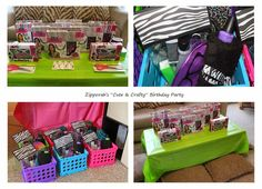 Candi Cole's Corner: Cute & Crafty Teen Birthday Party