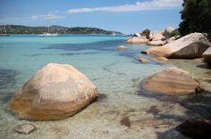 La Plage de Santa-Giulia, Corse du Sud : Les plus belles plages de Méditerranée - Linternaute