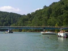CANNOT COUNT THE NUMBER OF SUMMERS I SPENT JUMPING OFF THIS BRIDGE. Favorite place in the whole world. Norris Lake, TN.