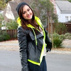 Neon Yellow Zip Up Hoodie Bright fluorescent yellow zip up hoodie with kangaroo pockets and drawstring hood. Super soft. Worn once. Unisex sizing. Please carefully review each photo before purchase as they are the best descriptors of the item. My price is firm. No trades. First come, first served. Thank you! :) Gildan Sweaters