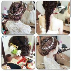 花嫁様ってなんて可愛いんでしょうか |City Wedding 大阪 梅田、京都、神戸 ブライダルヘアメイク出張 ☆ヘアメイクアーティストモリの美女採集