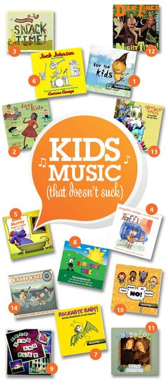 Kids love music so why have them listen to garbage?