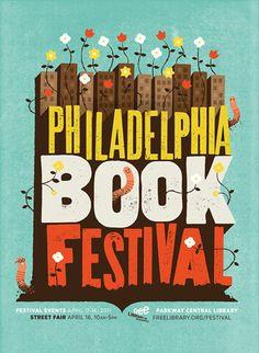 Philadelphia Book Festival #poster