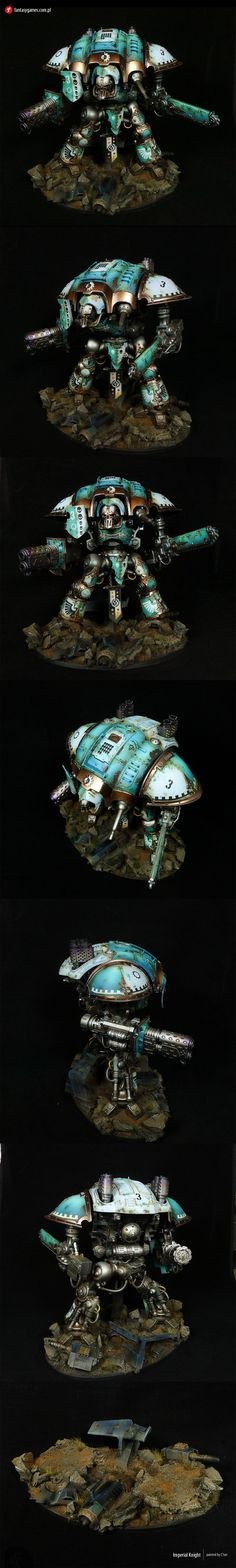 Titans : Exhibition of miniatures painted by other artists around the world