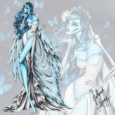 Guillermo Meraz - Fashion Corpse Bride