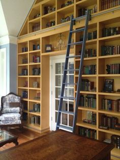 Decorative Living Room Bookshelf With Sliding Ladder Ideas Google Search Bookshelves Built In