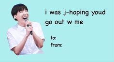 Yes KPOP Valentine's Day Card