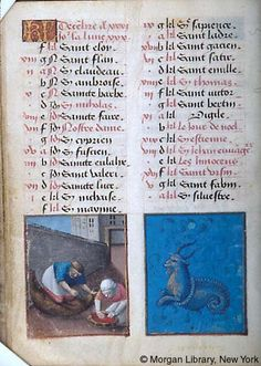 December - Book of Hours - France, Bourges, ca. 1473 - MS M.677 fol. 6v