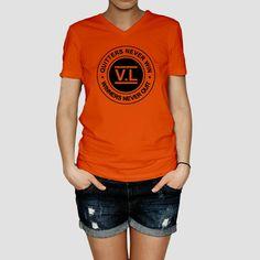 Quitters never Win women T-shirt