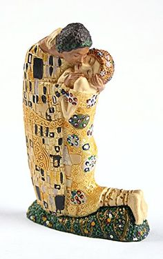 Klimt The Kiss Miniature Statue Wedding Cake Topper PA03KL Parastone *** Continue to the product at the image link.