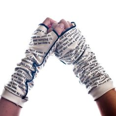 Sherlock Holmes Writing Gloves - Storiarts - 1 so geeky but I love them! Sherlock Holmes, Classic Short Stories, 221b Baker Street, Thing 1, White Long Sleeve, Boutique, Fingerless Gloves, Arm Warmers, Etsy