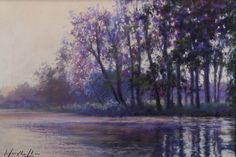 Evening reflections by Mary Chaplin  Copyright remains with the artist.  #marychaplin