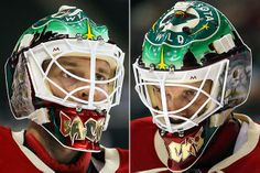 NHL Goalie Masks By Team | ... Minnesota Wild - NHL Goalie Masks by Team (2010-11) - Photos - SI.com