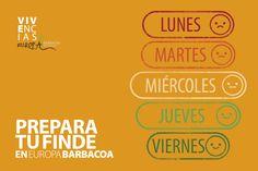 Empieza a preparar tu finde desde ahora. Calçotades, picnic, carnes a la brasa, restaurant, tapacoa... www.europabarbacoa.es #restaurant