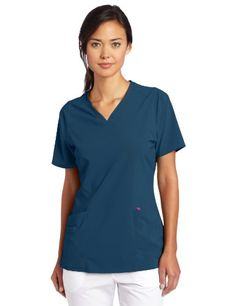 43f7ef5ddd6 Smitten Women's Rock Goddess Top $20.34 Medical Scrubs, African Violet, Lab  Coats