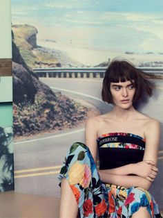 Sam Rollinson, Lexi Boling & Katlin Aas by Craig McDean for Vogue UK March 2014