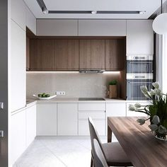 Minimalist Kitchen Ideas Beautiful Simple and Minimalism Styled. Find the best ideas for your minimalist style kitchen that suits your taste. Browse for Kitchen Room Design, Luxury Kitchen Design, Kitchen Cabinet Design, Home Decor Kitchen, Kitchen Living, Interior Design Kitchen, Home Kitchens, Kitchen Ideas, Kitchen Furniture