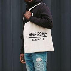 Branded Tote Bags, Band Merch, Don't Forget, Screen Printing, Cool Designs, Branding, Events, Awesome, Photos