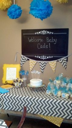 Baby shower given by family for our first grandbaby!!  We can't wait:)