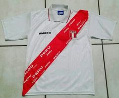 Vintage UMBRO Peru National Team Soccer Jersey  peru fifa worldcup jerseys  soccer futbol ebay ebayseller 7973f9dfa