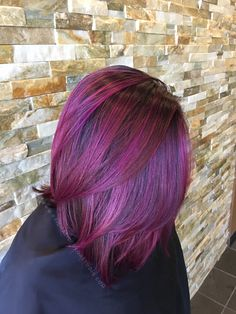 Purple Pink Mermaid Unicorn Hair Color 2017 Trends Pulp Riot Hair Color PrismaticColorStudio Fashion Color Colormelt #pulpriot #haircolor #prismaticcolorstudio www.prismaticcolorstudio.com